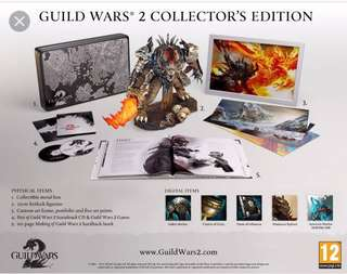 🚚 Guild wars 2 collectors edition