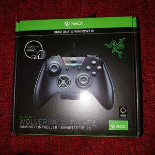 Razer Wolverine Ultimate Xbox one controller BNIB never opened