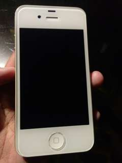 Hi guys im selling my iPhone 4s for only 4k! original no scratches with screen protection and charger.
