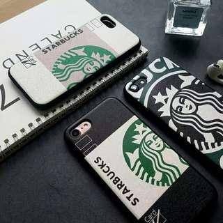(Soft) Inspired Starbucks Europe Style iPhone Full Cover Case