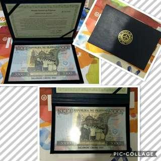 2000-Philippine Centennial Commemorative Banknote
