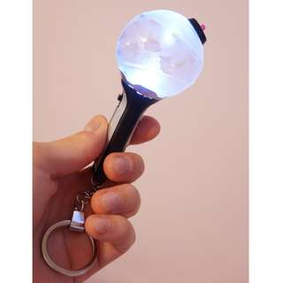 BTS Official Army Bomb Keyring