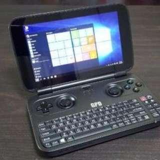 (特價一台) GPD Win 4G+64G 手提摺疊遊戲機+電腦 5.5吋 放褲袋極方便 (二手)99%NEW