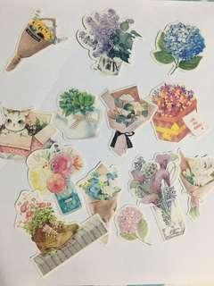 INSTOCK🌸BOUQUET OF FLOWERS (13PCS)