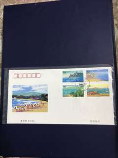China Stamp- 2001-14 B-FDC