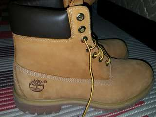 Timberland Yellow Boots
