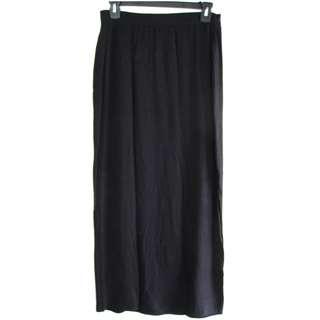Gap Long Black Skirt