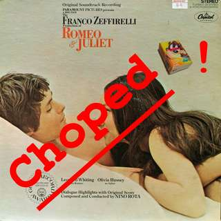 romeo juliet Vinyl LP used, 12-inch, may or may not have fine scratches, but playable. NO REFUND. Collect Bedok or The ADELPHI.
