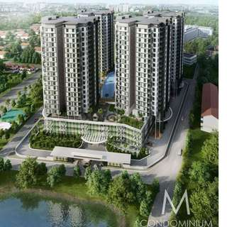 M-Condominium in JB larkin near to CIQ for rent