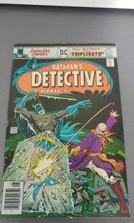 Detective Comics DC bronze age comics