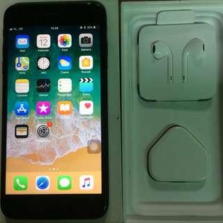 Iphone 7 Plus 128gb Black Matte Ex Singapore