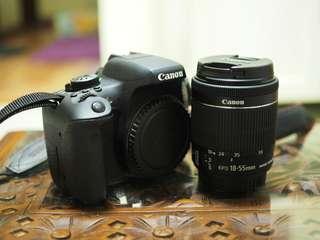 Canon 700d + 18-55mm kit lens