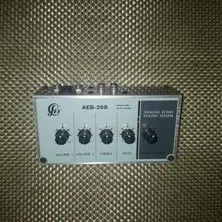 Analog Echo sound system