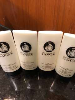 Lanvin Paris Shampoo, conditioner & body lotion