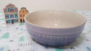 Le creuset 全新Lc 藍鈴紫 韓式湯碗