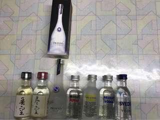 舊酒辦 #伏特加酒辨 7樽 $120