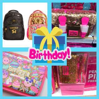SMIGGLE 15 BIRTHDAY COLLECTION