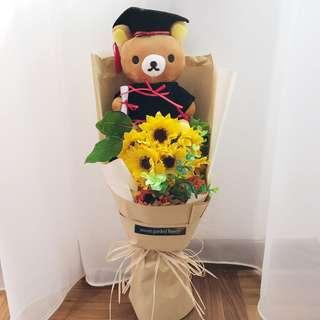 Rilakkuma Graduation Bouquet