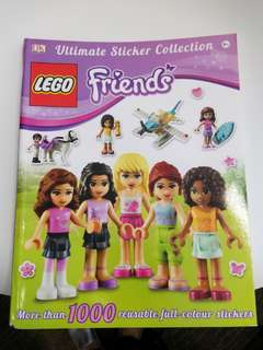 Lego friends ultimate stickers collection