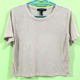 Creme Top Forever 21