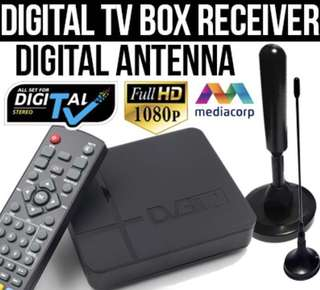 [READY STOCK] Digital TV Box Digital Antenna + FREE DELIVERY