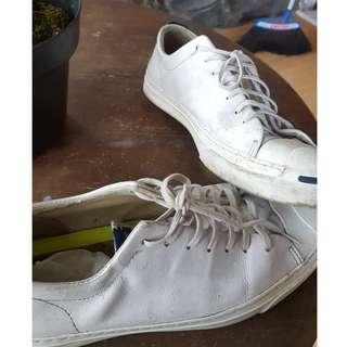 Converse Jack Purcelll Ox Leather True White Lunarlon
