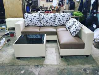 Sofa L Di jual Kredit