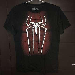 T-Shirt Spiderman Glow in the dark