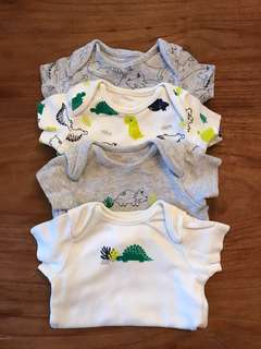 Mothercare Onesie Set of 4