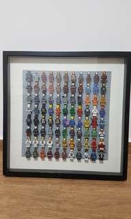 Ironman lego -frame display (Tony stark)