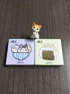 一碗貓&小倉鼠貼紙