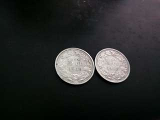 1963 & 1968 1/2 FRANC