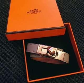 Hermes Kelly double tour bracelet FT