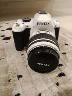 Pentax K-r 12.4 MP DSLR Camera with free lens and filter
