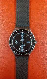 SWATCH ORIGINAL YGS113 / SWAGMEN BLACK