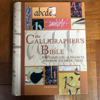 🚚 Calligraphy Bible / Guide Book