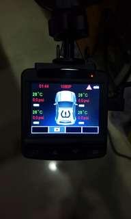 Whistler行車記錄器(含4輪胎壓偵測器)可換物
