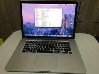 15' MacBook Pro Retina, mid 2014
