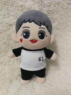 EXO Chanyeol 20cm number tee