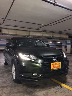 HONDA VEZEL 1.5X! Promo Now! Petrol Saver Proven! 18% off petrol Card! Lowest Price! Can Drive For Grab/RydeX/Go-Jek/Jugnoo! Flexible Rental Scheme! Personal User! Call Now!