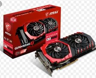MSI rx580 8gig, graphics card