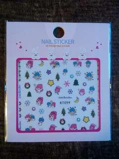 包郵 美甲貼紙twinstar款 Nail Sticker