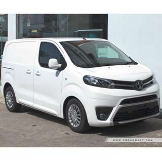 (Sales) New Toyota Proace 1.6M & 2.0M 2018 Euro 6