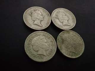 The British One Pound (£1)