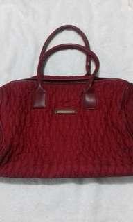 Red Original Girbaud Duffle Bag