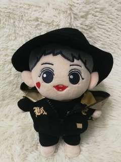 20cm doll Black hat