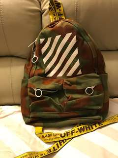 offwhite back pack