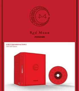 MAMAMOO-Red Moon [7th Mini Album]