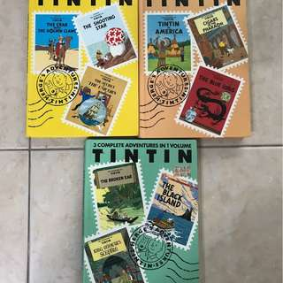Tintin Adventures Collection Vol 1 to 7