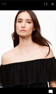 Aritzia off the shoulder blouse, S